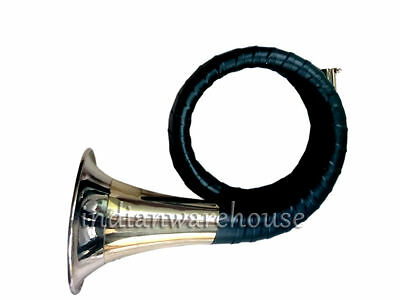 DEAL* TRADITIONAL*NEW^Bb_HUNTING HORN / BUGLE +CASE BRS EHS
