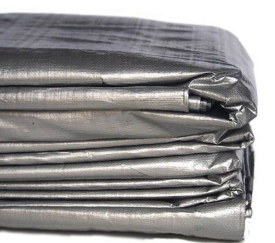 8m x 10m 26ft x 32ft HEAVY DUTY PE TARPAULIN - TYPE 210