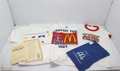 Lot of 4 Vintage Mcdonald's Tee Shirts