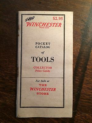 WINCHESTER TOOLS POCKET PRICE GUIDE-Saws, Planes, Pliers, Axes, Chisels