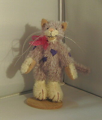 Deb Canham Miniature Bear- Cheshire Cat  #340/2500