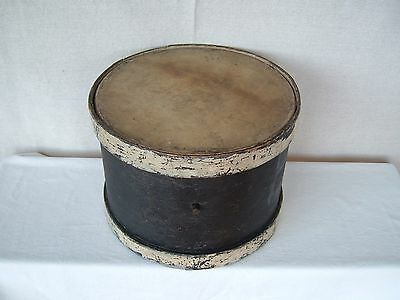 Antique Primitive Wood SNARE DRUM natural skins (late 19th Century ????) OLD!!!
