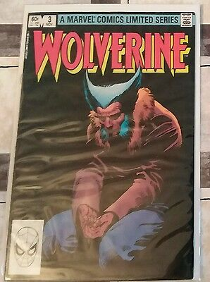 Wolverine #3 by Frank Miller