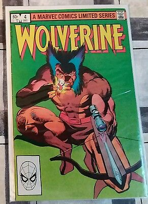 Wolverine #4 by Frank Miller