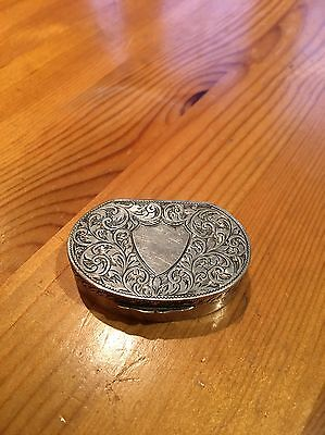 1901 Beautiful Sterling Silver Vinaigrette