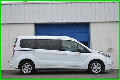 2014 Ford Transit Connect XLT LWB 2.5L Dual Sliders 7 Pass Rear Cam Loaded Repairable Rebuildable Salvage Runs Great Project Builder Fixer Easy Fix Save