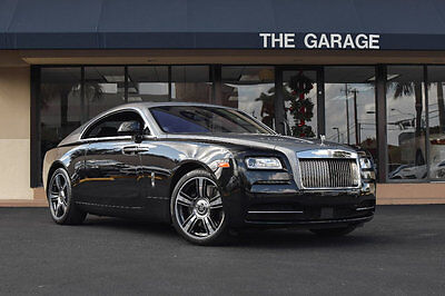 2014 Rolls-Royce Wraith 2dr Coupe '14 Rolls Royce Wraith,Warranty 2/24/18, Comfort entry,Head up Display,Night Vis