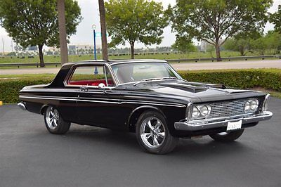 1963 Plymouth Fury Restomod 1963 PLYMOUTH FURY BLACK/RED 440 450HP A/C RESTO MOD BEST OF THE BEST 110K SPENT