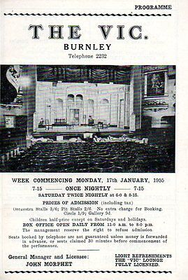 """The Vic Burnley 1955 """"For better For Worse"""" Jean Lockhart Austin Steele"""
