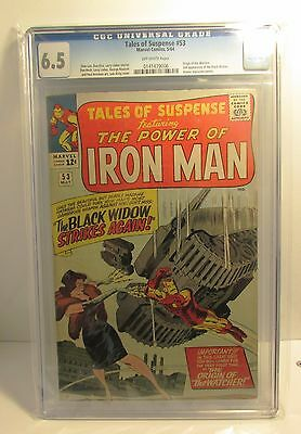 Tales of Suspense #53 - CGC 6.5 (2nd appearance of The Black Widow)
