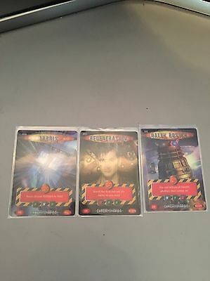 Doctor Who Battles In Time  3x Exterminator Ultra Rare Cards