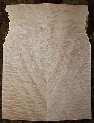 Quilted maple guitar carve top. Very nice figure.