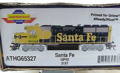 65327 Athearn Genesis HO GP50 Santa Fe patched BNSF Brand new boxed