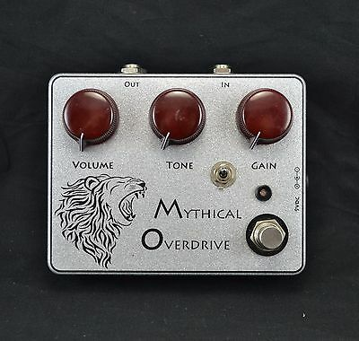 USED Rimrock Effects Mythical Overdrive Guitar Effects Pedal (094)