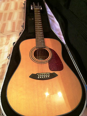 Fender 12 string electro acoustic guitar