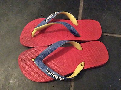 Haviana flipflops UK Size 1-2 VGC