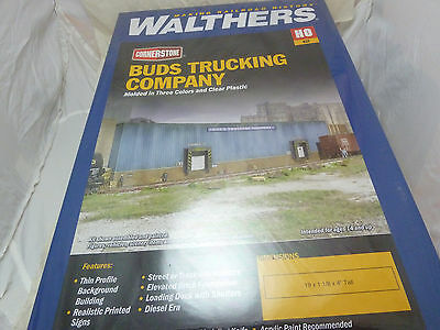 933-3192 Walthers Cornerstone Buds Trucking Company still shrink wrapped!