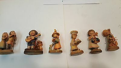 Vintage Lot of Anri Woodcarvings made in Italy
