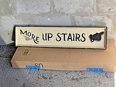 Vintage Wood Real Antique Store Hand Painted Sign Wooden Decor
