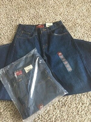 Boys Size 14 Regular Arizona Relaxed Jeans NWT Lot Of 2