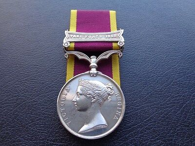 CHINA MEDAL 1857-60 - Officially Impressed,  MASTER'S ASST.