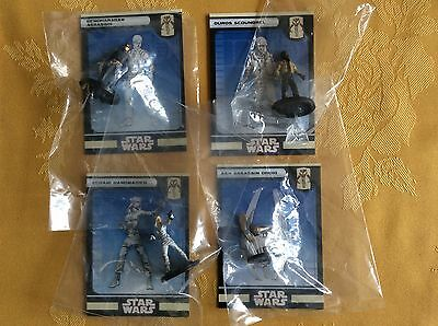 Star Wars Roleplaying Game Figures X 4