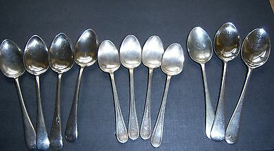 Vintage Collection Of Quality Stainless Nickel Silver Teaspoons/coffee Spoons