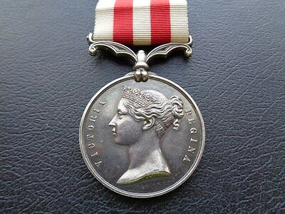 INDIAN MUTINY MEDAL 1857/59  -  CAPTAIN,  15th BOMBAY N.I.