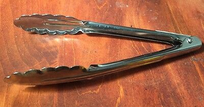 """Tong 7"""" Spring Tongs VOLLRATH Stainless Steel NEW!"""