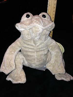 "FLOPPY cuddly FROG medium  8"" tall  .Quarry Critters by Second nature designs"