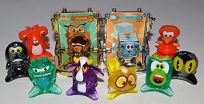 Star Monsters Series 2 - 10 Figures including Gold & Silver