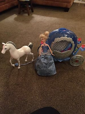 Cinderella Doll Carriage And Horse