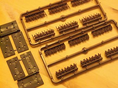 Warmaster '10mm' BoFA   2 sprues Men with bows & spears + bases