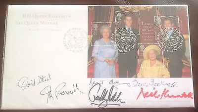 First Day Cover signed by David Steel, Neil Kinnock, Betty Boothroyd Cont'd