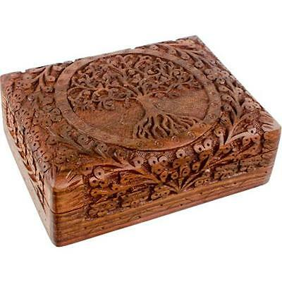 Tree of Life Shisham Wood Tarot Box!