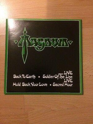 Magnum Back To Earth Single