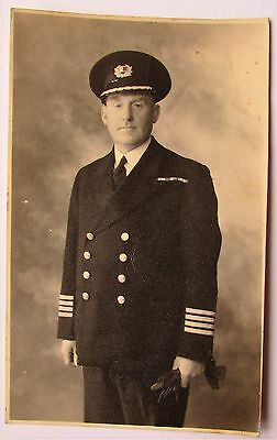 Photograph - Naval officer in uniform