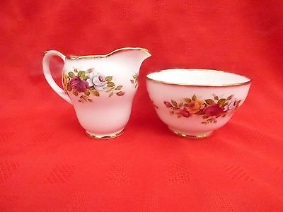Duchess Cina, Milk and Sugar Bowl, A T Finney and sons, Longton, Staffs
