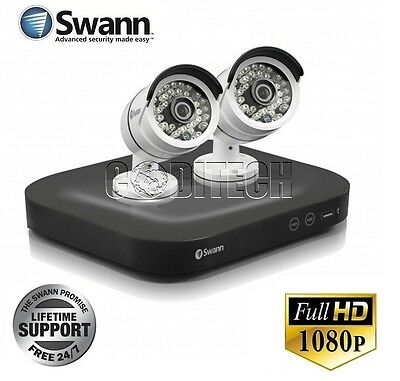Swann DVR4-4750 - 4 Channel HD-1080p CCTV Kit with 2x 3.0MP PRO-T858 Cams **