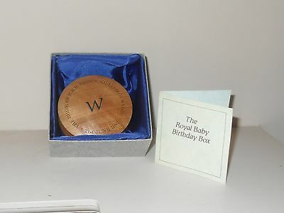 Prince William Limited Edition Royal Baby Birthday Box Number 9 Of 1000