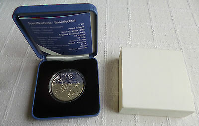 2015 Ireland €10 Silver Proof Coin 70 Years of Peace Europa Programme Eire Irish