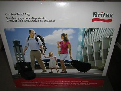 NEW Britax Car Seat Black Travel Bag S844700 - FREE SHIPPING!