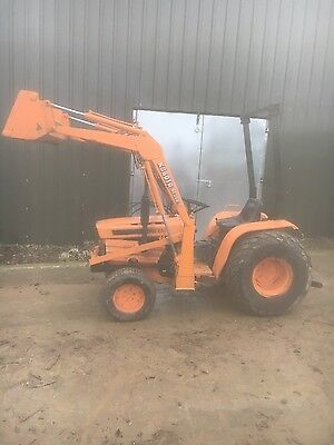 kubota compact tractor 4wd with loader NO VAT low hours