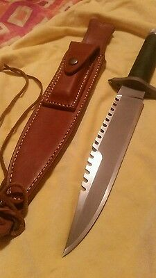 first blood  movie  knife rambo