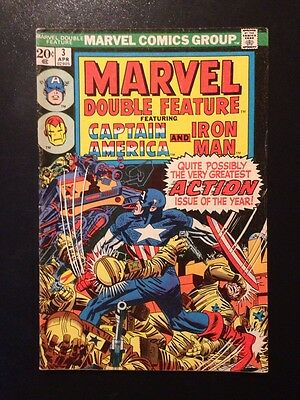 Marvel Double Feature #3 Featuring Captain America and Iron Man