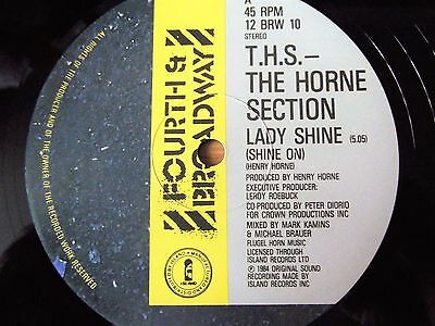 "The Horne Section - Lady Shine  1984 - Boogie / Funk  - Ex 12""  Listen!!"
