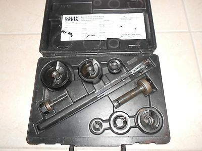 """Klein Tools Knockout Punch Set 53732-Sen 1/2""""- 2"""" Punches 7238"""