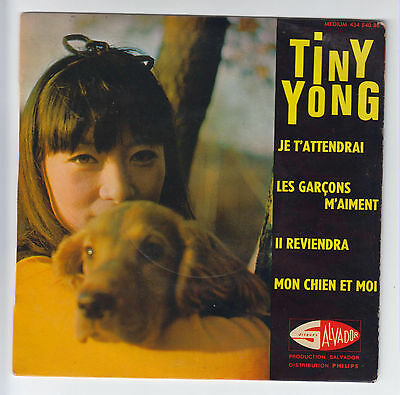 Ep Tiny Yong  Je T'attendrai (Salvador)