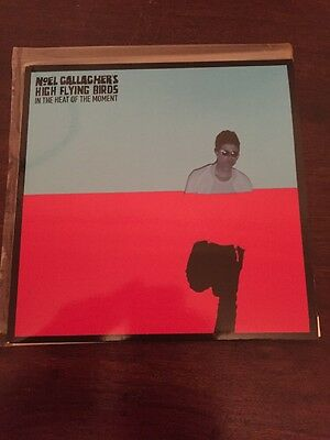 "Noel Gallagher's High Flying Birds - ""In The Heat Of The Moment"" 7 Inch Single"