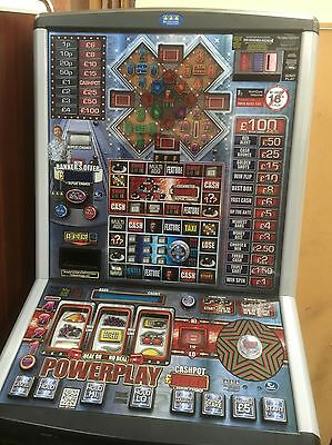 DEAL OR NO DEAL POWERPLAY  £100 jackpot NOTE ACCEPTOR FITTED